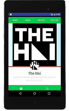 The Hai app for Android